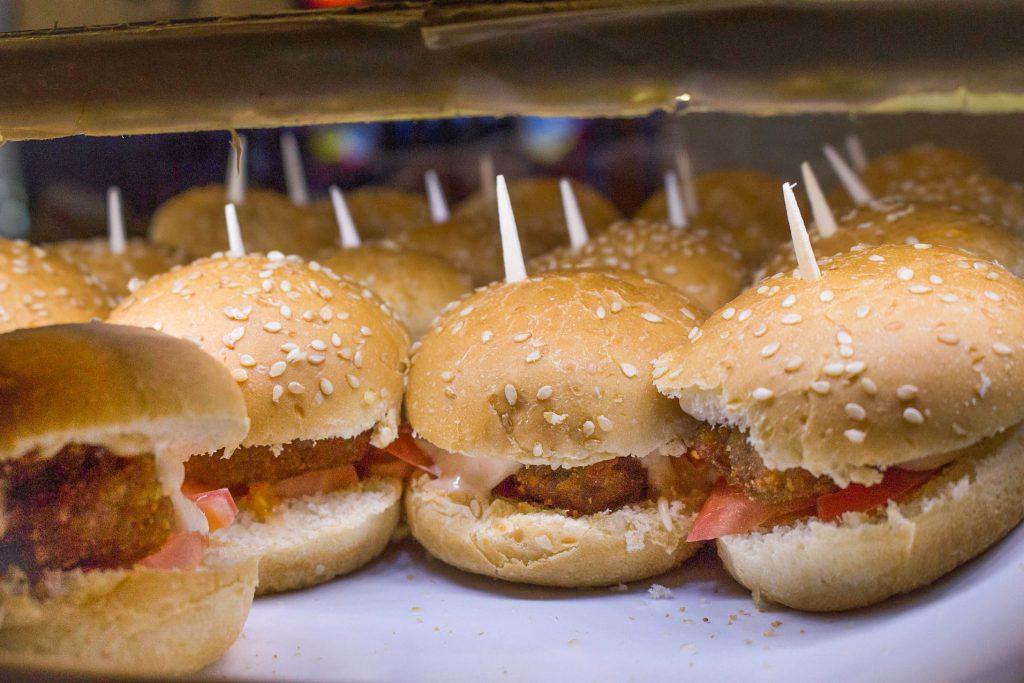 Pincho hamburguesa pequeña