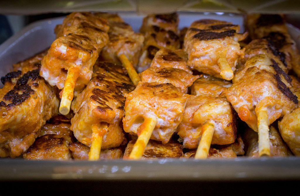 Pincho moruno cocina tradicional